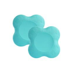 Yoga knee pad mat set of 2...