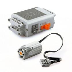 Motor + battery holder for...