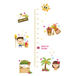 Growth chart beach party