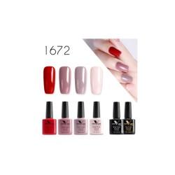 Gel nail polish color 1672...
